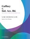 Gaffney V Ind Acc Bd