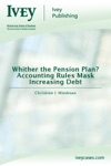 Whither The Pension Plan Accounting Rules Mask Increasing Debt