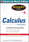 Schaums Outline Of Calculus