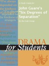 A Study Guide For John Guares Six Degrees Of Separation