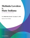 Melinda Loveless V State Indiana