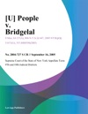 U People V Bridgelal