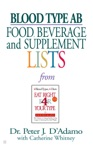 Blood Type AB Food Beverage And Supplemental Lists