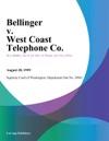Bellinger V West Coast Telephone Co