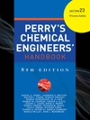 Perrys Chemical Engineers Handbook 8th Edition Section 23 Process Safety