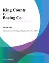 King County V Boeing Co