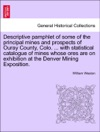 Descriptive Pamphlet Of Some Of The Principal Mines And Prospects Of Ouray County Colo  With Statistical Catalogue Of Mines Whose Ores Are On Exhibition At The Denver Mining Exposition