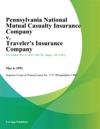 Pennsylvania National Mutual Casualty Insurance Company V Travelers Insurance Company