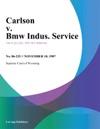 Carlson V Bmw Indus Service