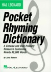 Hal Leonard Pocket Rhyming Dictionary Music Instruction