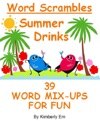 Summer Drinks Word Scrambles 39 Word Jumble Puzzles