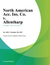 North American Acc Ins Co V Allentharp