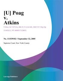 [U] POAG V. ATKINS
