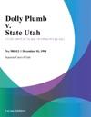 Dolly Plumb V State Utah