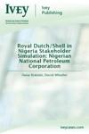 Royal DutchShell In Nigeria Stakeholder Simulation Nigerian National Petroleum Corporation