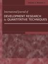 International Journal Of Development Research And Quantitative Technique