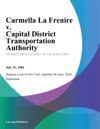 Carmella La Frenire V Capital District Transportation Authority