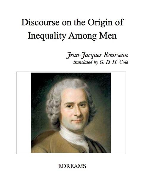rousseau essay on inequality