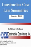Construction Case Law Summaries October 2013