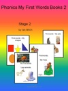 Phonics My First Words Books 2