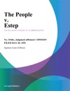 The People V Estep