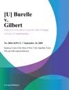 U Burelle V Gilbert