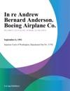 In Re Andrew Bernard Anderson Boeing Airplane Co