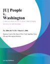 People V Washington