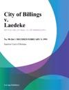 City Of Billings V Laedeke