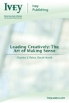 Leading Creatively The Art Of Making Sense