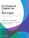 U Preferred Capital Inc V Best Cigars