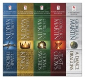 The A Song of Ice and Fire Series - George R.R. Martin Cover Art