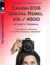 The Complete Guide To Canons Rebel Xsi  450D