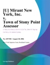 U Mirant New York Inc V Town Of Stony Point Assessor