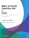 BMW Of North America Inc V Gore