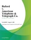 Buford V American Telephone  Telegraph Co