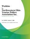 Watkins V Northwestern Ohio Tractor Pullers Association Inc