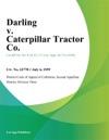 Darling V Caterpillar Tractor Co