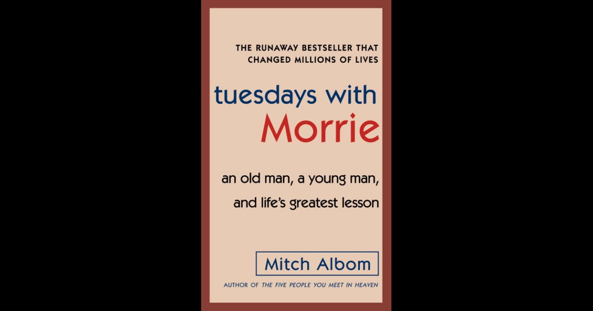 thesis paper on tuesdays with morrie Mitch goes on to speak of how morrie spoke words of tuesdays with morrie book review to have the essay published on the uk essays website then.