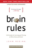 Brain Rules (Updated and Expanded) - John Medina Cover Art