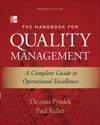 The Handbook For Quality Management Second Edition  A Complete Guide To Operational Excellence