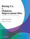 Boeing Co V Oaklawn Improvement Dist