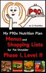 My P90x Nutrition Plan Menus And Shopping Lists For Fat Shredder Phase 1 Level II
