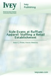 Kyle Evans At Ruffian Apparel Staffing A Retail Establishment