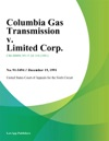 Columbia Gas Transmission V Limited Corp