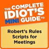 The Complete Idiots Mini Guide To Roberts Rules Scripts For Meetings