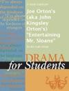 A Study Guide For Joe Ortons Aka John Kingsley Ortons Entertaining Mr Sloane
