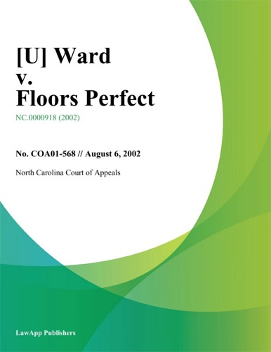 U Ward V Floors Perfect