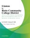 Llamas V Butte Community College District