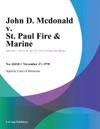 John D Mcdonald V St Paul Fire  Marine